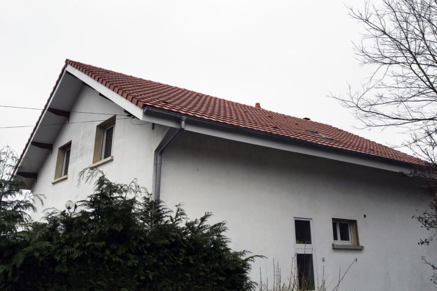 Isolation de toiture par l'extérieur à Montbéliard